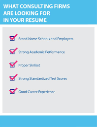 Consulting Resume The Ultimate Guide On How To Write The