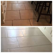 i used grout renew paint for the grout and loved it i got carried away though and wound up staining the tiles with a combo of the grout paint and sealer
