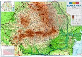 Imagini pentru harta romania satelit