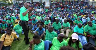 wage negotiations process after a bruising battle in the gold sector tense wage