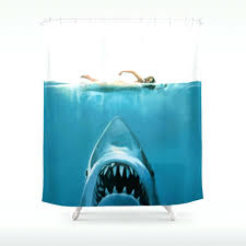 jaws shower curtain uk soozone