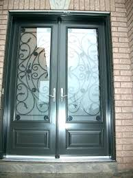 showy fiberglass exterior doors with glass front entry double inserts fibergl