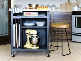 Movable Kitchen Island Designs How To Build A Diy Kitchen Island On Wheels Hgtv