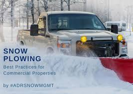 Snow Plowing Best Practices for Commercial Properties - Snow & Ice ...