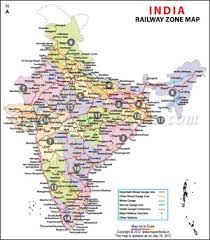 Indian Railway Route Chart Indian Railways Maps And Information