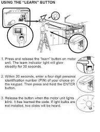 how to reset garage door openerGarage Reprogram Craftsman Garage Door Opener  Home Garage Ideas