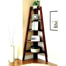 Oak Corner Shelves Wall Mount Enchanting Hanging Corner Bookshelf Image Of Wall Mounted Corner Shelves Style