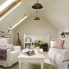 attic lighting ideas. Stunning Sloping Wood Roof Attic Bedroom Design : Gorgeous Ideas With White Lighting I