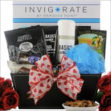 spa gift basket for your man on valentine s day