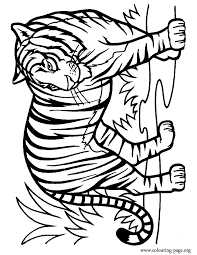 Small Picture Tiger Coloring Pages Free Printable Pictures Coloring Pages For Kids