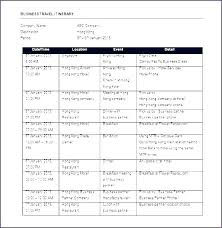 Free Trip Itinerary Planner Travel Itinerary Planner Template Trip Itinerary Planner