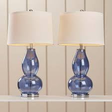 Set Of Two Table Lamps Beautiful Decoration Idea For Bedroom Or Living Room With