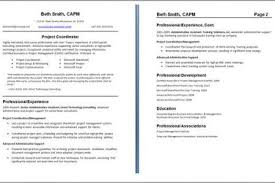 Two Page Resume Format Best Sample Two Page Resume Format