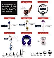 ear gauging chart actual size ultra thin earskin silicone tunnel plug