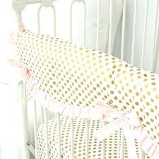 gold crib sheet gold dot crib sheets blush and gold dot ruffle crib rail cover tiny gold crib sheet