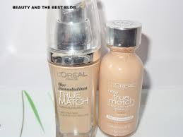 ing back to l oreal true match foundation i got this in two versions 2 diffe shades one the indian version w2 and the other one from usa n3