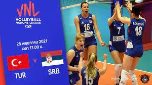 ถ่ายทอดสด วอลเลย์บอลหญิง เนชันส์ลีก 2021 ตุรกี vs เซอร์เบีย Full HD