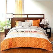 orange twin comforter amazing bedding boy blue grey within solid