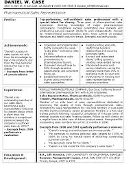 Sample Of Resume For Sales Representative Resume For Your Job