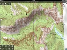 topo maps for iphone and ipad review  man makes fire
