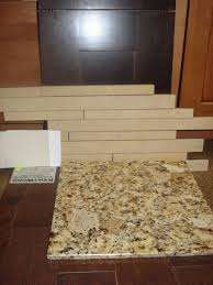 Vinyl Floor Tile Backsplash An Easy Backsplash Made With Vinyl Tile Kitchen Ideas Design With