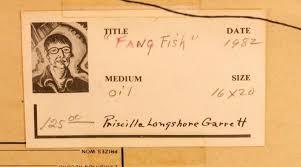 Priscilla Garrett (1907-1992) Oil Painting, Fish Lot 1230 | #1846662299