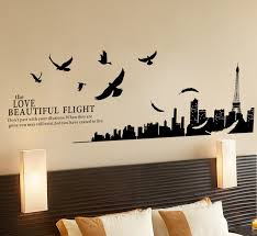 Small Picture Wall Decal Awesome Paris Decals Wall Art Ideas Paris Wall Mural