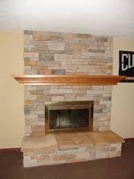 Renovate Brick Fireplace Fireplace Remodel Cultured Stone Stone Veneer Hearth Mantle