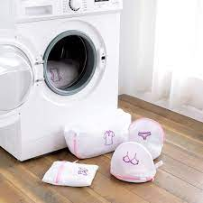 Çamaşır makinesi kirli çamaşır torbası iç çamaşırı çamaşır örgü fermuarlı  çanta giyim iç çamaşırı organizatör temizleme çantası sutyen yıkama Net  çanta|Çamaşır Torbaları