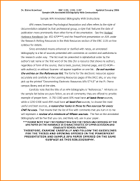 007 Awesome Collection Of Example Annotated Bibliography Apa Style