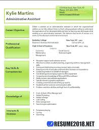 Back Office Resume Sample Sample Resume For School Office Assistant