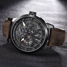 Pagani Design Watch Us 59 99 48 Off Pagani Design Mens Classic Skeleton Mechanical Watches Waterproof 30m Genuine Leather Brand Luxury Hollow Automatic Watch Saat In