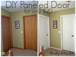 hollow core bore to a beautiful updated door diy slab door makeover doors how painting