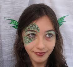 diy dragon face paint
