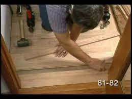 finishing up the hardwood floor installation laying hardwood floors part 8 of 8