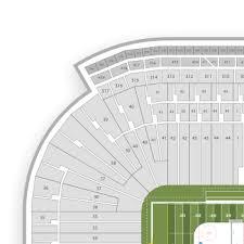 Seating Chart Michigan Football Stadium Rational Michigan State University Football Stadium Seating