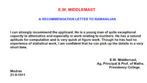 letter for job recommendation what is the best letter of recommendation you have ever read quora