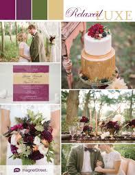 Purple and green wedding colors Teal Wedding Regal And Rustic Wedding Ideas In Purple Green And Gold From Magnetstreet Magnetstreet Regal And Rustic Wedding Ideas