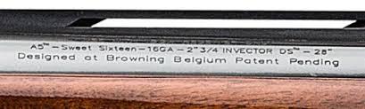 Browning Choke Tubes Chart Choke Tube Identification