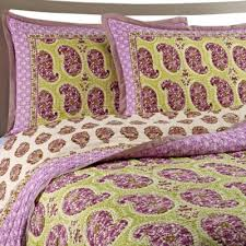 Buy Cotton King Quilts from Bed Bath & Beyond & Goa Cotton Voile King Quilt Set in Lilac Adamdwight.com