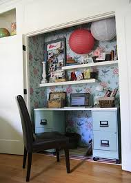 office in a closet design. Office In A Closet Design O