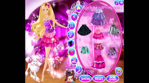 barbie games to play free barbie cartoon game barbie a fashion fairytale makeover game you