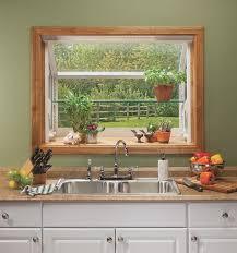 Nice Small Bay Window Kitchen Sink