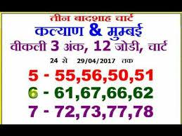 Jodi Chart Videos Matching Main Mumbai Fix Jodi Charts Revolvy