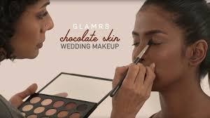 elegant bridal makeup for dark skin glamrs makeup tutorial with pallavi symons