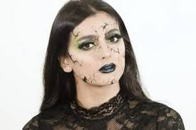 if it s a y look you re after below we ve created a super quick and easy green witch makeup look plete with green smoky eyes chrome lips and a