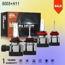 9005 Led Light Kit Details About Combo H11 9005 Led Headlight Bulb Kit High Low Beam Light For Chevrolet Camaro
