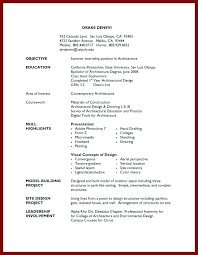 Basic Resume Template For First Job First Time Job Resume Template