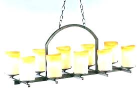 candle chandelier non electric votive candle chandelier