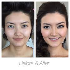 gorgeous with or without makeup our bride looks radiant with soft definition to the eyes and a light airbrush coverage which adds brightness and glow